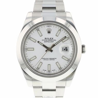 Rolex - Datejust II White Dial