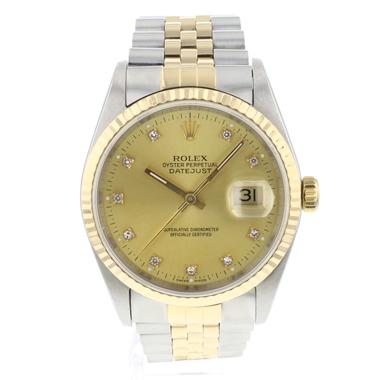Rolex - Datejust 36 Steel/Gold jubilee Diamond Dial