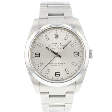 Rolex - Air-King 34 Silver Dial