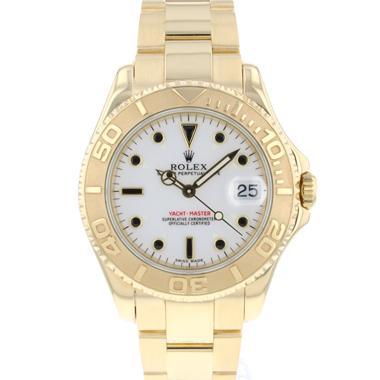 Rolex - Yacht-Master 35 MM Yellow Gold