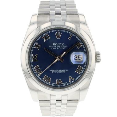 Rolex - Datejust 36 Jubilee Blue Roman Dial