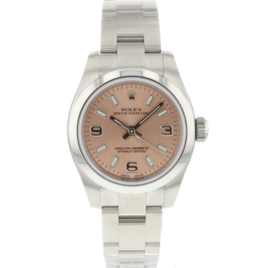 Rolex - Oyster Perpetual 26 Pink Dial NEW