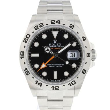Rolex - Explorer II Black NEW