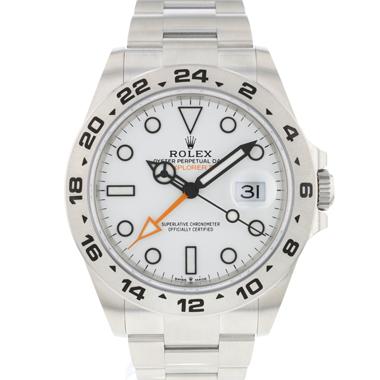 Rolex - Explorer II White NEW