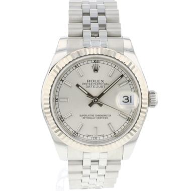 Rolex - Datejust 31 Midsize Jubilee Silver
