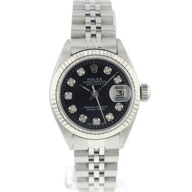 Rolex - Datejust Lady 26 Jubilee Black Diamonds Dial
