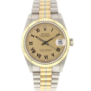 Rolex - Datejust 31 Midsize Tridor President