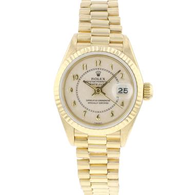 Rolex - Datejust Lady 26 Yellow Gold President