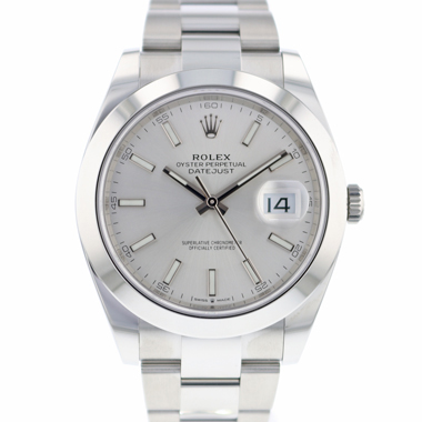 Rolex - Datejust 41 Silver Dial NEW