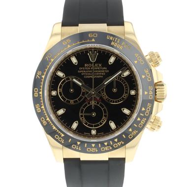 Rolex - Daytona Yellow Gold Black Dial