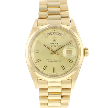 Rolex - Day-Date Yellow Gold Pesident 1802