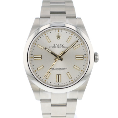 Rolex - Oyster Perpetual 41 Silver Dial NEW