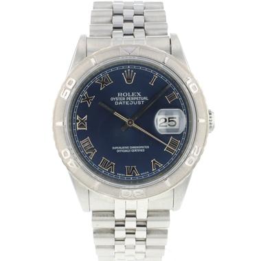 Rolex - Datejust Turn-O-Graph 36 Blue Dial