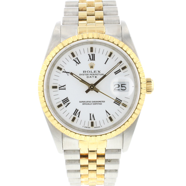 Rolex - Oyster Perpetual Date 34 Gold/Steel Jubilee