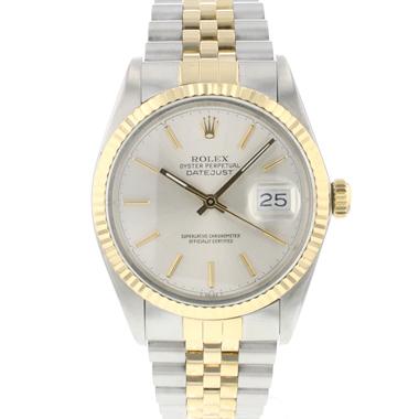 Rolex - Datejust 36 Gold/Steel Jubilee Silver Dial