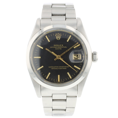 Rolex - Oyster Perpetual Date 34 Matt Black Sigma Dial