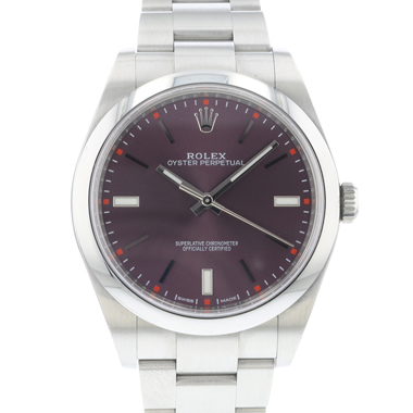 Rolex - Oyster Perpetual 39 Red Grape