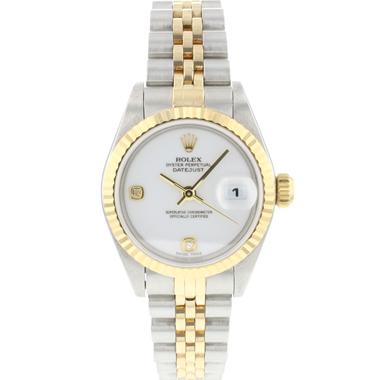 Rolex - Datejust 26 Lady Steel/Gold White Diamond Dial