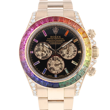 Rolex - Daytona Everose Gold Rainbow