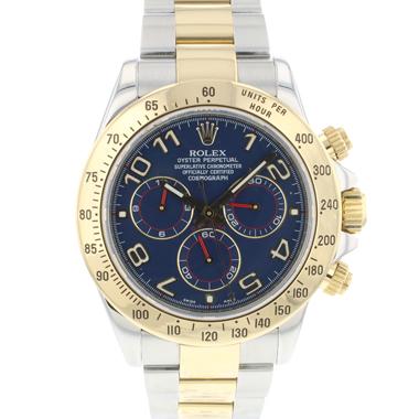 Rolex - Daytona Steel/Gold Blue Racing Dial