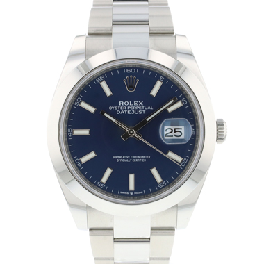 Rolex - Datejust 41 Oyster Blue Dial