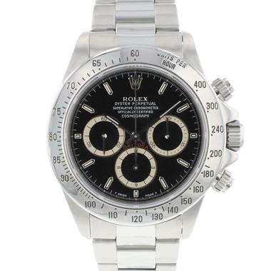 Rolex - Daytona Steel Black Zenith