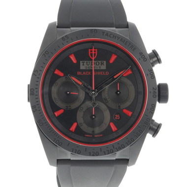 Tudor - Fastrider Black Shield Red Chronograph NEW!!