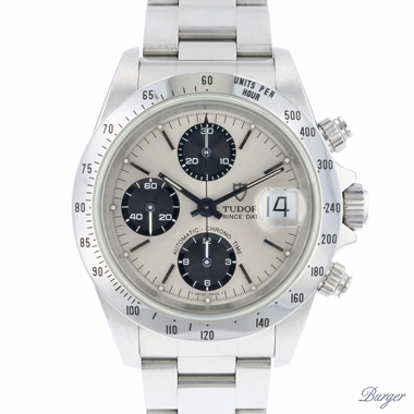 Tudor - Oyster date Chronograph Case By Rolex Oyster Bracelet